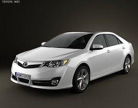 3D Toyota Camry US SE 2012