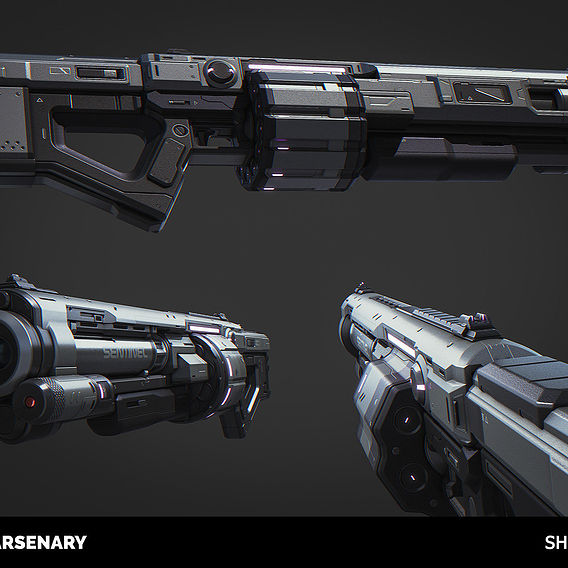Shotgun (Highpoly)