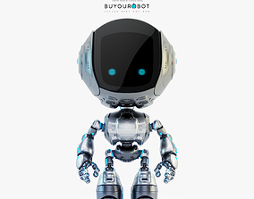 3D model Fun bot I digital toy