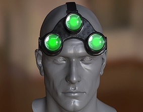Night vision goggles 3D model