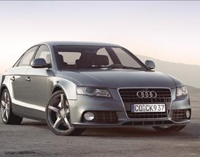 luxury 3D Audi A4