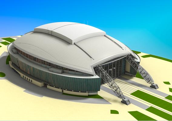Cowboys Stadium Dallas 3D