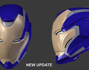 Iron rescue pepper potts 3d helmet