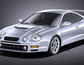 Toyota Celica GT-Four 1993-1999 VRAY 3D model