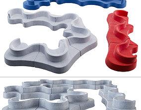 3D Verpan Cloverleaf Sofa In and Outdoor
