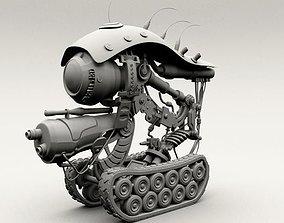 robot machine 3D asset realtime