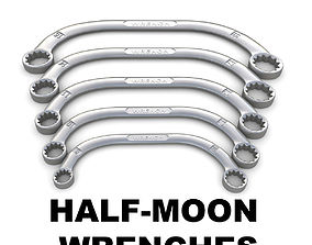 Half-moon wrenches 3D