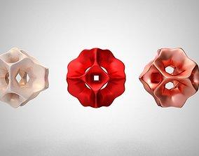 Octahedron Bead 3D print model