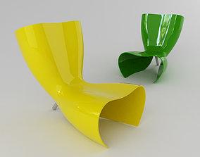 Felt Chair 3D