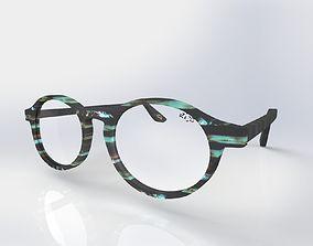 Panto optical frame 3D