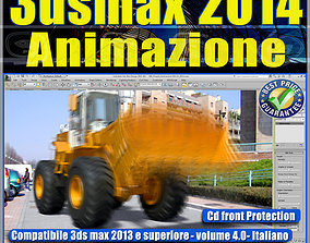 3ds max 2014 Animazione v 4 Italiano cd front animated