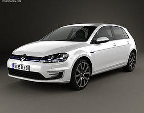 Volkswagen Golf GTE 2015 3D model