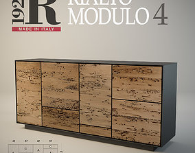 Sideboard Rialto MODULO 4 RIVA 1920 3D