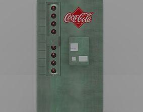 Vintage Vending Machine 3D