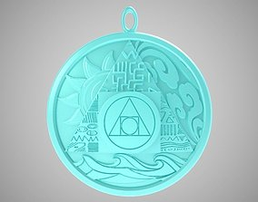 Alchemy Necklace 3D print model