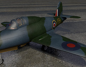 Gloster G-40 Pioneer 3D model g-40