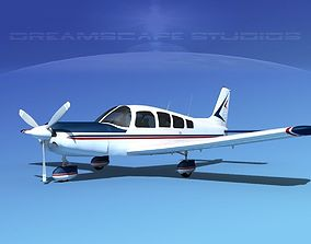 3D model Piper Cherokee Six 260 V03