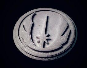 Jedi Order Symbol 3D printable model