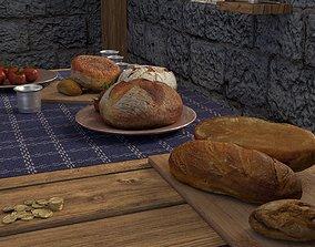 3D Bakery Bread