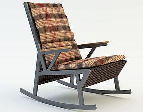 design rocking chair 3D