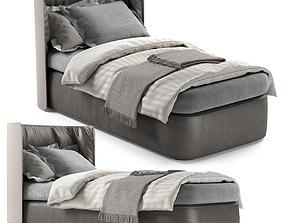 SINGLE BED 19 3D model