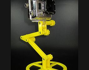 Action Camera Stand 3D print model