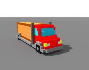 MagicaVoxel Truck 3D asset