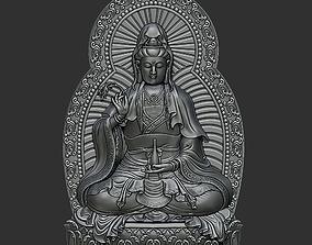 cnc 3D printable model Kwanyin Bodhisattva