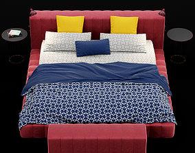 3D Modern bed 12
