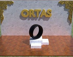 3D asset ORTAS TIRE PACK 9 INCLUDING 5 GAME READY TIRES