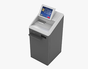 Banking Statement Machine 3D model