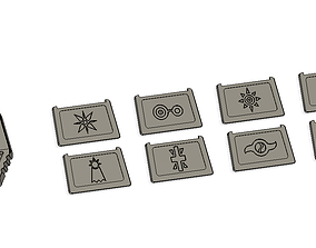 Digimon - Crests 3D printable model