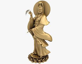 3D Models Kwan yin Bodhisattva Statue