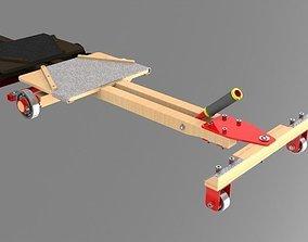 Carrinho de rolamento - cart rolling 3D print model