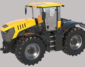 3D model Fastrac Large Tractor Vray PBR