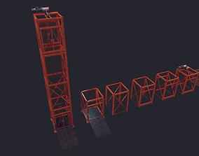3D model Construction Lift