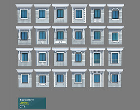 Architectural Window Model Detail realtime
