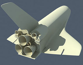 rocket 3D NASA Space Shuttle