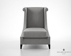 3D model Stuart Scott The Vegas Lounger armchair