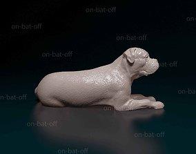3D printable model American bulldog