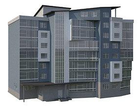 3D model High-Rise Building 2a