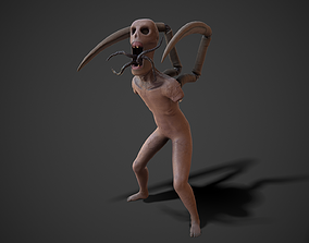 PBR Infected Zombie 3D model