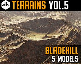 3D cliff Terrains Vol 5