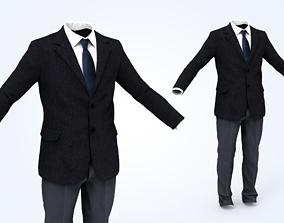 Business Suit Man 3D asset