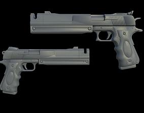 Devil May Cry Dante Ebony and Ivory 3D print model