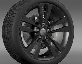 Chrysler 300 SRT8 Satin Vapor wheel 3D