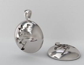 Yume kanji pendant 3D print model