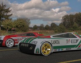 Lancia Stratos prototype 3D model