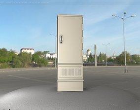 3D asset realtime Electrical Distribution Cabinet 85