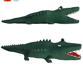 3D model Stuffed toy Crocodile Reptile Animal plush for 1
